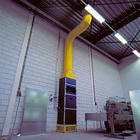 Industriele floorheater voor een evenwichtige verdeling van de temperatuur