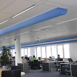 Airconditioning en klimaatbeheersinf voor kantoor