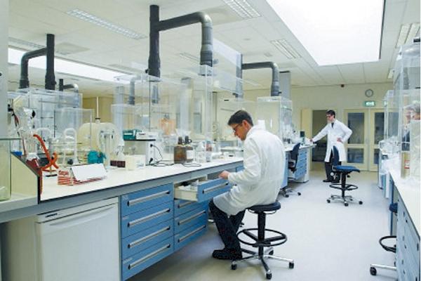 luchtbehandeling, klimaatbeheersing in laboratoria